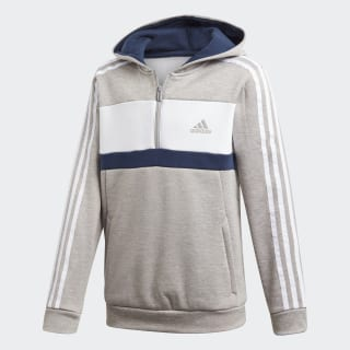 Sport ID Fleece Hoodie Mgh Solid Grey / White / Collegiate Navy DI0206