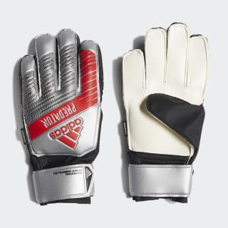 Predator Top Training Fingersave Gloves Silver Met. / Black DY2602