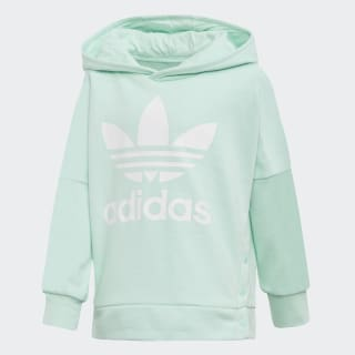 Hoodie Snap Clear Mint / White D98882