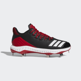 Icon Bounce Cleats Core Black / Cloud White / Power Red CG5246