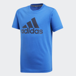 Must Haves Badge of Sport T-Shirt Blue / Collegiate Navy DV0818