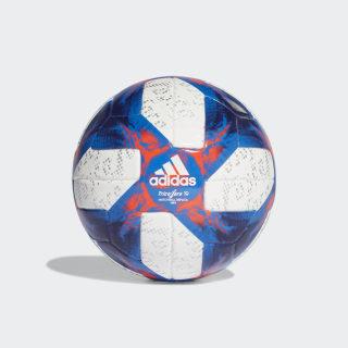 Pallone mini Tricolore 19 White / Football Blue / Solar Red / Silver Met. FS0803