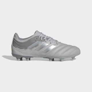 Calzado de fútbol Copa 20.3 Terreno Firme Grey Two / Silver Metallic / Solar Yellow EF8329