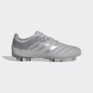Chuteira Copa 20.3 Campo Grey Two / Silver Metallic / Solar Yellow EF8329