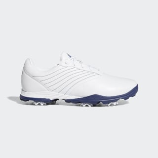 Adipure DC2 Golfschuh Cloud White / Tech Indigo / Silver Metallic EF2003