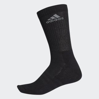 3-Streifen Performance Crew Socken Black / Black / Light Grey AH9866