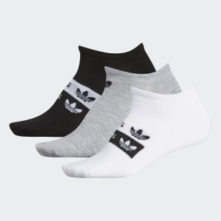 Stacked Forum No-Show Socks 3 Pairs Multicolor CL5027