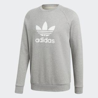 Trefoil Warm-Up Sweatshirt Medium Grey Heather CY4573