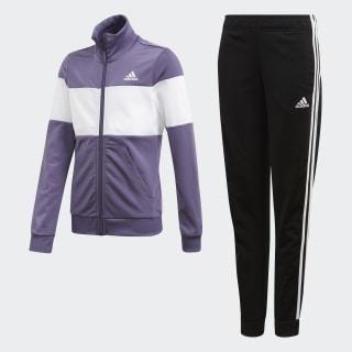 Pants Con Sudadera Yg Pes Ts Tech Purple / White FM6420