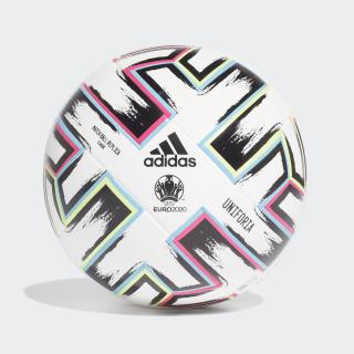 Футбольный мяч Uniforia League White / Black / Signal Green / Bright Cyan FH7339