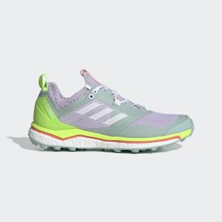 Chaussure de Trail Running Terrex Agravic XT Purple Tint / Cloud White / Green Tint EF2162