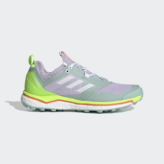 Terrex Agravic XT Trail Running Shoes Purple Tint / Cloud White / Green Tint EF2162