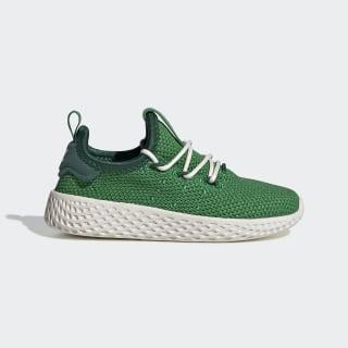 Pharrell Williams Tennis Hu Shoes Green / Green / Dark Green FV0055