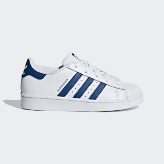Chaussure Superstar Cloud White / Cloud White / Legend Marine F34164