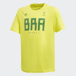 Brazil Tee Bright Yellow CW2071