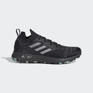 TERREX Two Parley Trailrunning-Schuh Core Black / Grey Two / Linen Green EF4814