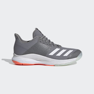Crazyflight Bounce 3 Shoes Grey Three / Cloud White / Signal Coral EH0856