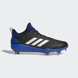Adizero Afterburner V Cleats Core Black / Running White / Collegiate Royal CG5216