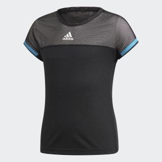 T-shirt Escouade Black / White / Shock Cyan DU2459