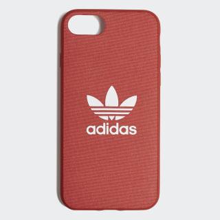 Fabric Snap Case iPhone 8 Shift Orange / White CK6145