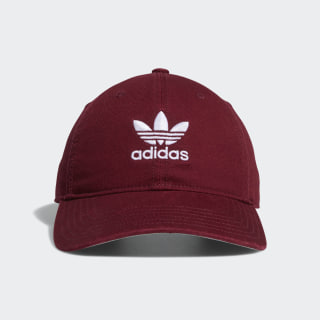 Relaxed Strap-Back Hat Collegiate Burgundy CJ7570
