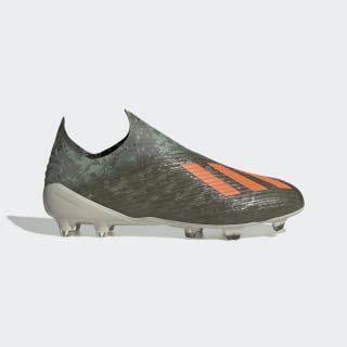 Botas de Futebol X 19+ – Piso firme Legacy Green / Solar Orange / Chalk White EF8295