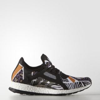 9671a0377b734 Pure Boost X Shoes Core Black   Core Black   Eqt Orange AQ6693