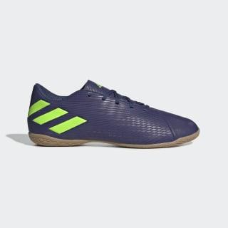 Botas de Futebol Nemeziz Messi 19.4 – Pavilhão Tech Indigo / Signal Green / Glory Purple EF1810