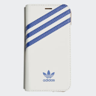 Booklet Case iPhone XS White / Collegiate Royal CL9692