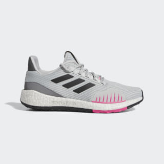 Tenis para correr Pureboost HD Winter Grey Two / Core Black / Shock Pink EF8907