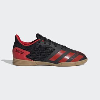 Zapatilla de fútbol sala Predator 20.4 Indoor Core Black / Active Red / Core Black EF1979