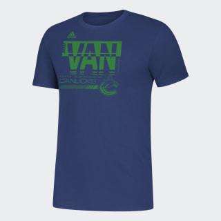 T-shirt Blackhawks Amplifer Nhl-Vca-51c / Blue EJ3351