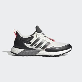 Giày UltraBoost cho mọi địa hình Off White / Grey Six / Shock Red EG8096