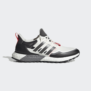 Ultraboost All Terrain Shoes Off White / Grey Six / Shock Red EG8096