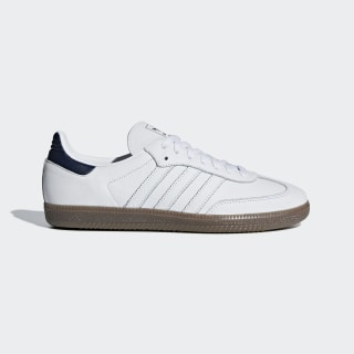 Samba OG Shoes Ftwr White / Collegiate Navy / Gum5 D96782