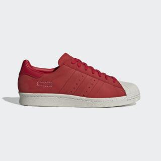 Tenis Superstar 80s scarlet / scarlet / raw white CG6263