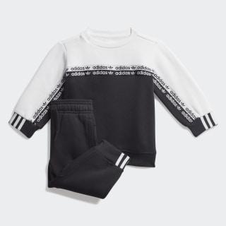 Sweatshirt-Set Black / White FM5495