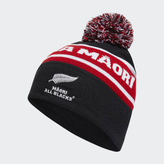 All Blacks Maori Beanie Black / White / Scarlet DN5876
