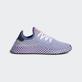 Zapatilla Deerupt Runner Orange /  Active Purple  /  Shock Red CG6095