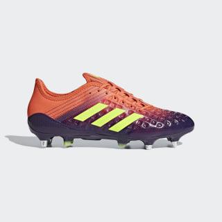 Predator Malice Soft Ground Boots Legend Purple / Hi-Res Yellow / True Orange BB7970