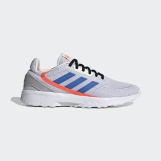 Nebula Zed Shoes Chalk White / Glory Blue / Solar Red EG3708