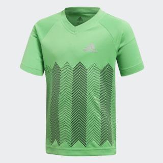 Football Tee Vivid Green / Reflective Silver DJ1476