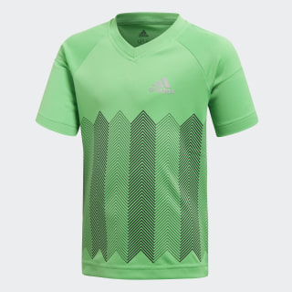 Polera Football VIVID GREEN/REFLECTIVE SILVER DJ1476