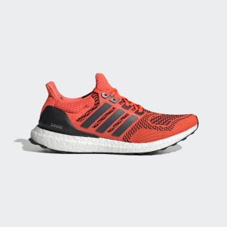 Ultraboost Shoes Core Black / Core Black / Solar Red FU6648