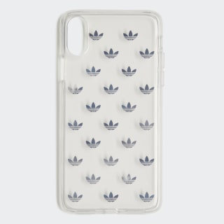 Clear Case iPhone X Silver Metallic CL4884