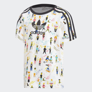 T-shirt Multicolor / Black ED7778