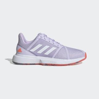 CourtJam Bounce Shoes Signal Coral / Purple Tint / Tech Purple EF2764