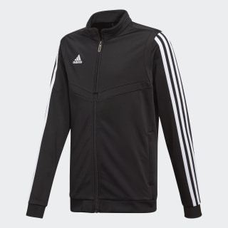 Tiro 19 Polyester Track Top Black / White DT5788