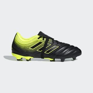 Футбольные бутсы Copa Gloro 19.2 FG core black / core black / solar yellow BB8089