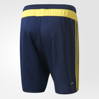 Shorts Uniforme Local Selección Colombia 2014/2015 COLLEGIATE NAVY/BRIGHT YELLOW S27044